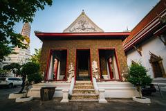 The historic Wat Chakrawatrachawat Woramahawihan Buddhist temple, in Bangkok, Stock Photos