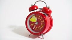 Alarm clock - stock footage