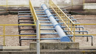 Stock Video Footage of Dirty Sewage Wastewater Treatment Plant 4K Stock Video Footage