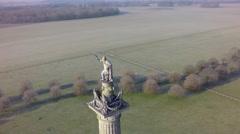 Blenheim Winter: Column of Victory Stock Footage