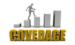 Coverage - stock illustration