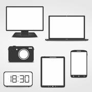 Electronics Stock Illustration