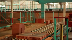 Brickyard in Krasnodar region Stock Footage