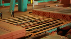 Brickyard in Krasnodar region - stock footage