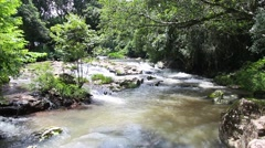 Waterfall spot in the river - 1080p Stock Footage