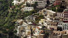 Positano Amalfi Coast Italy 4K Stock Video Footage Stock Footage