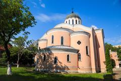 Cathedral temple of Holy Apostles, Vratsa, Bulgaria - stock photo