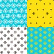 Endless pattern.Template for design and decoration. - stock illustration