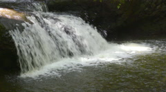 4K Waterfalls Forest 02 Stock Footage