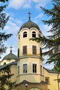 "Bishop Temple ""St. Nicholas (Nicholay)"", Vratsa, Bulgaria - stock photo"