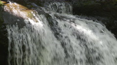4K Waterfalls Forest 06 - stock footage