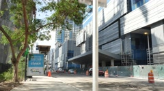 Brickell City Centre construction site Stock Footage