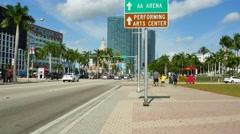 Bayside Miami 4k - stock footage