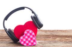 Romantic music concept - stock photo