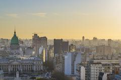 Aerial View of Buenos Aires Argentina Stock Photos