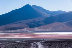 Laguna Colorada - stock photo