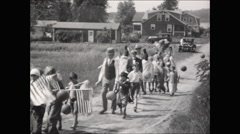 Horribles Parade July 4th Stock Footage