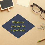 Inspirational motivation quote on workspace background Stock Photos