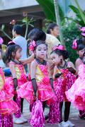 Ayutthaya - NOVEMBER 20 : Parade for sporting day of The Joseph School on Nov - stock photo