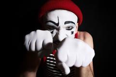 mime - stock photo