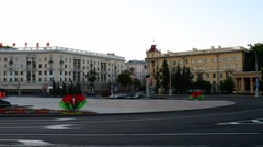 Victory Circus in Minsk Stock Footage