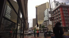 Cape Town city CBD,South Africa Stock Footage