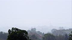 Nairobi foggy day Stock Footage
