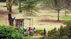 Nairobi Playground Stock Footage