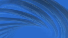 Abstract Blue Wave Background - stock footage