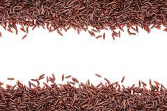 Red rice Stock Photos