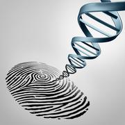 Genetic Fingerprinting - stock illustration