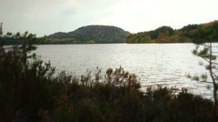 Scotland lake fall timelapse - stock footage