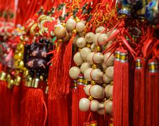 Good luck item on sale during Chinese New Year - stock photo