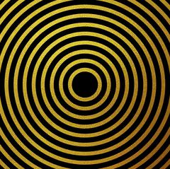 Stock Illustration of Gold glitter rings vector background