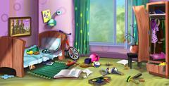 Little boy's room Piirros