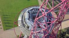 ArcelorMittal Orbit: Retreat Stock Footage