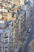 Buenos Aires Eclectic Architecture Aerial View - stock photo