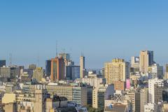 Stock Photo of Buenos Aires Eclectic Architecture Aerial View
