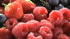 SUMMER FRUIT IN A BOX Stock Footage