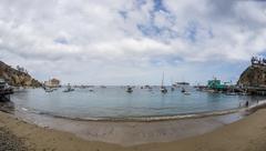 Avalon Bay Santa Catalina Island Stock Photos