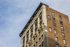 Old building at fifth avenue in New York City - stock photo
