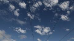 Powerlines 2 - stock footage