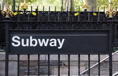 New York City Subway sign Kuvituskuvat