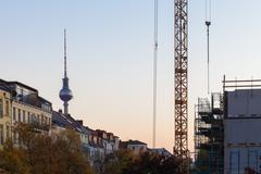 Berlin Prenzlauer Berg Stock Photos