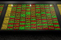 Stock Market Digital Board Piirros