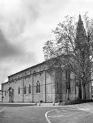 San Donato Cathedral Arezzo Italy - stock photo