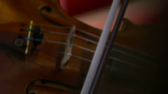 Violin Playing - stock footage