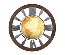 World clock Stock Illustration