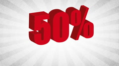 Sale icon  design, Video Animation Stock Footage