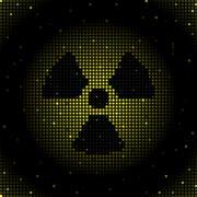 Radiation background Stock Illustration